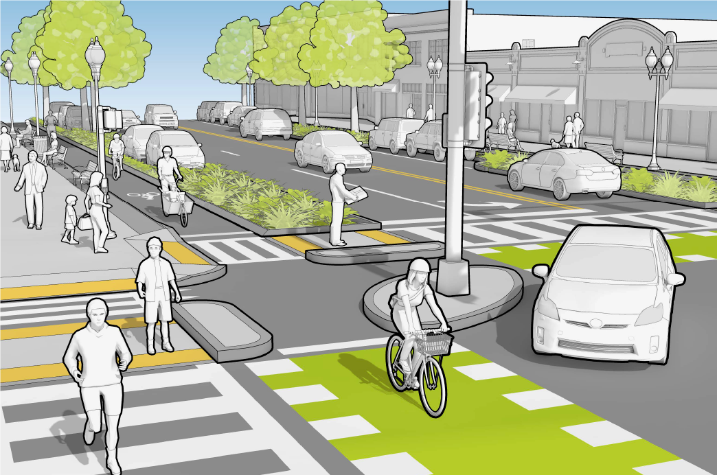 Dutch Intersection Graphic